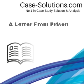 A Letter From Prison Case Solution
