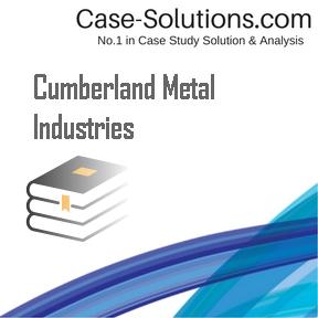 case 2 cumberland metal industries Cumberland metal industries analysis essay cumberland metal industires essay - cumberland metal industries overview cumberland [tags: enager industries case.