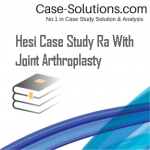 Hesi Case Study Ra With Joint Arthroplasty