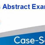 Case Analysis Abstract Example