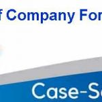 Case Study Of Company Format
