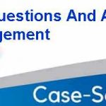 Case Study Questions And Answers On Project Management