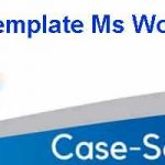 Case Study Template Ms Word