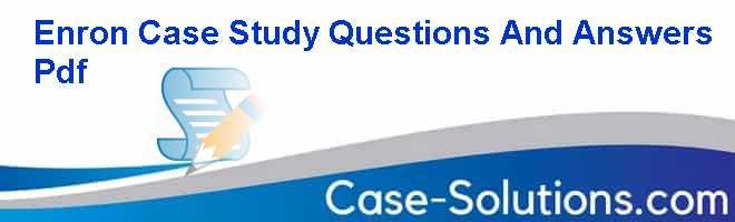 case study questions and answers