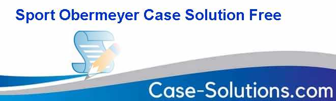 Sport Obermeyer Case Solution Free Case Solution