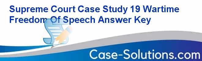 supreme court case studies answer key Read and download supreme court case studies answer key free ebooks in pdf format - valuation principles and practice 2nd edition cardiovascular system answer.