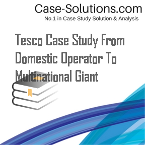 a study of tesco Management case study delivering success: how tesco is managing, measuring and maximising its performance for more information please visit: wwwap-institutecom.