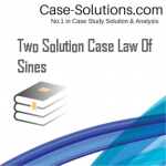 Two Solution Case Law Of Sines